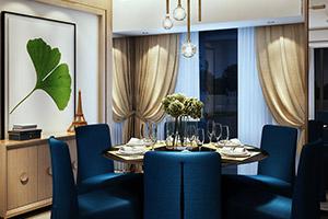 """Гостиная зона 40 кв. м. Визуализация загородного дома выполнена в стиле """"Модерн""""."""