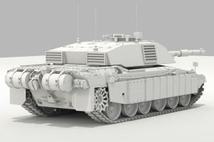 моделирование танка